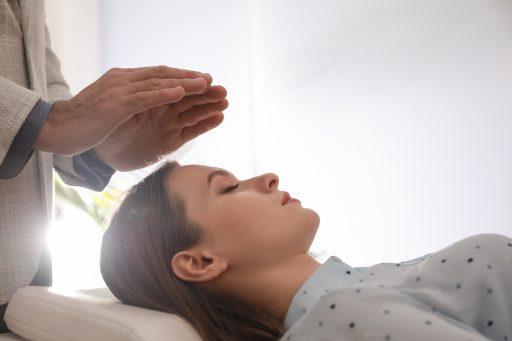 Vrouw in therapie